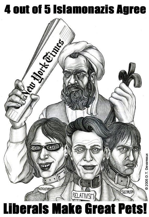 4 out of 5 Islamonazis agree!